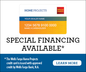 wells fargo home projects credit card, financing